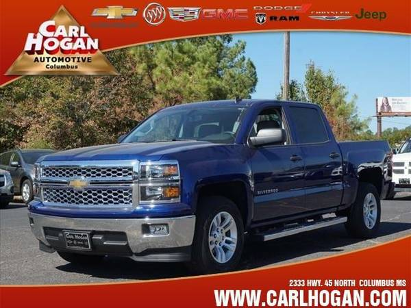 2014 *Chevrolet SILVERADO 1500* LT - Blue
