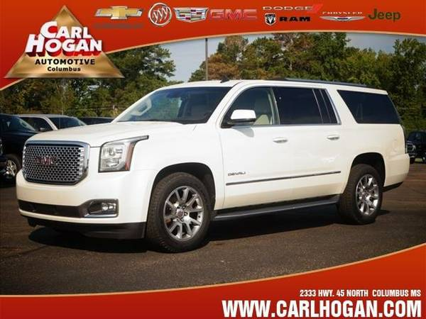 2015 *GMC Yukon XL* DENALI - White