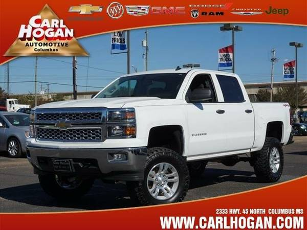 2014 *Chevrolet SILVERADO 1500* LS - White