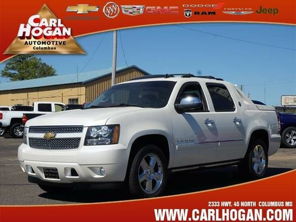 2013 *Chevrolet BLACK DIAMOND AVALANCHE* LTZ BLACK DIAMOND - White...