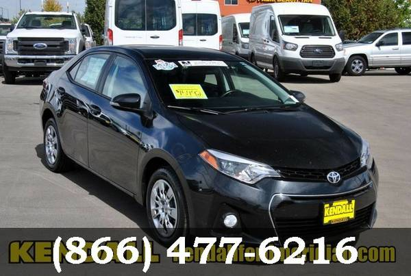 2015 Toyota Corolla Black Sand Mica Drive it Today!!!!