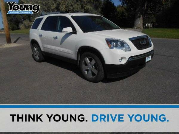 2011 *GMC Acadia*  - (Red Jewel Tintcoat) 6