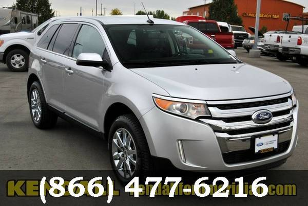 2014 Ford Edge Ingot Silver Metallic Call Today!