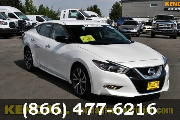 2016 Nissan Maxima WHITE SEE IT TODAY!
