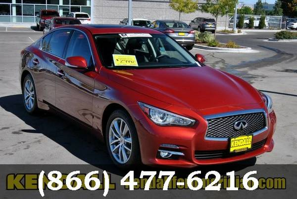 2015 Infiniti Q50 Venetian Ruby **Awesome Online Price!**