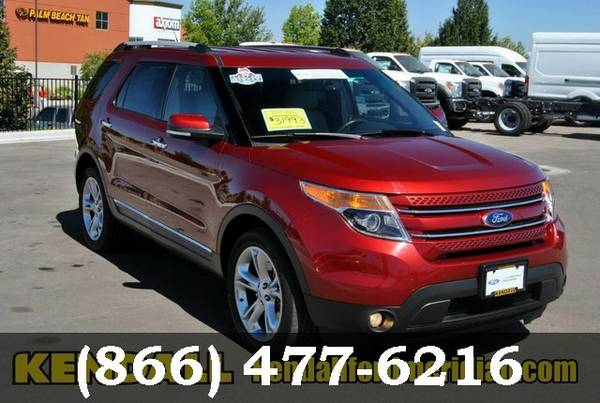 2015 Ford Explorer RED Good deal!***BUY IT***