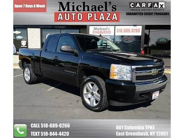2008 *Chevrolet Silverado 1500* LT1 4WD 4dr Extended Cab 5.8 ft. SB...
