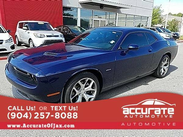 2015 Dodge Challenger R/T Coupe Challenger Dodge