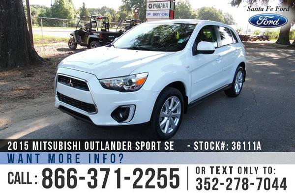*** 2015 Mitsubishi Outlander Sport SE *** Leather Seats - Bluetooth