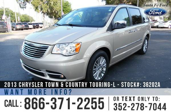 *** 2013 Chrysler Town & Country *** Loaded Minivan - Seats 7