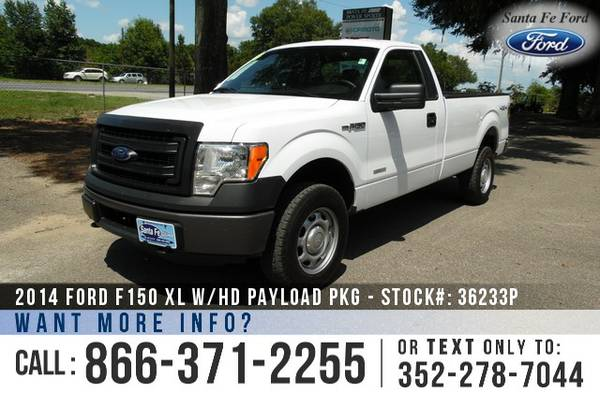 *** 2014 Ford F150 XL *** Used F-150 Truck - Reg Cab - 4WD