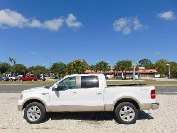 2008 FORD F150 4x4 KING RANCH 4DR SUPER CREW STYLESIDE 6.5 SB
