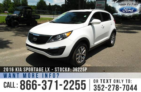 *** 2016 Kia Sportage Kia SUV *** SIRIUS Satellite - Camera - Warranty