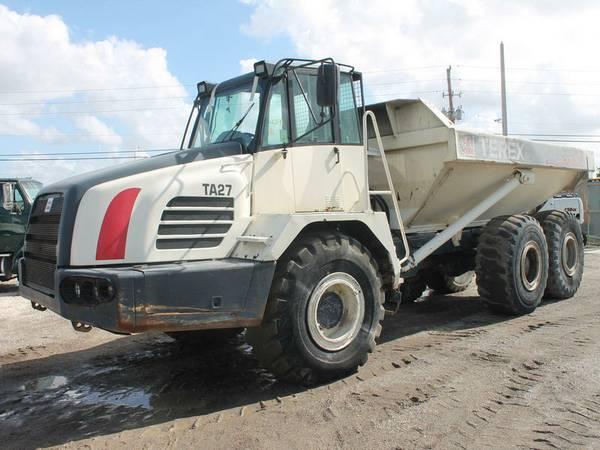 2004 TEREX TA27 Off Highway Truck