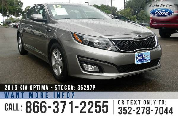 *** 2015 Kia Optima LX Sedan *** Used Car - SiriusXM - Warranty