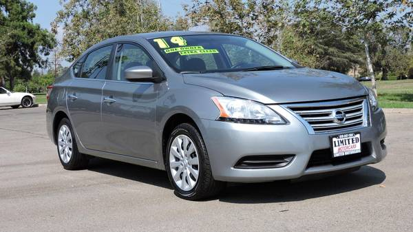2014 *NISSAN* *SENTRA* WITH 30K MILES ONE OWNER GAS SAVER MUST SEE