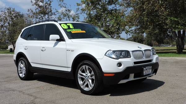2007 *BMW* *X3* SPORT PACKAGE FULLY LOADED WITH LOW MILES