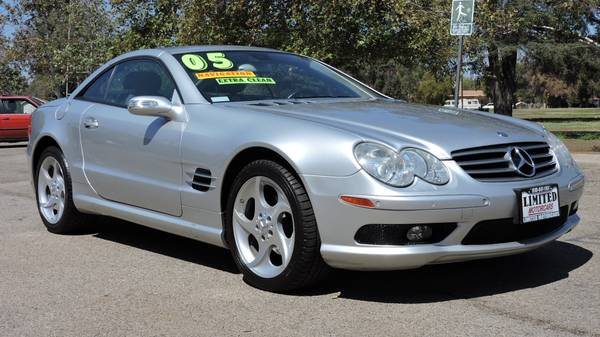 2005 *MERCEDES* *BENZ* *SL500* CONVERTIBLE W ONLY 62K MILES LOADED