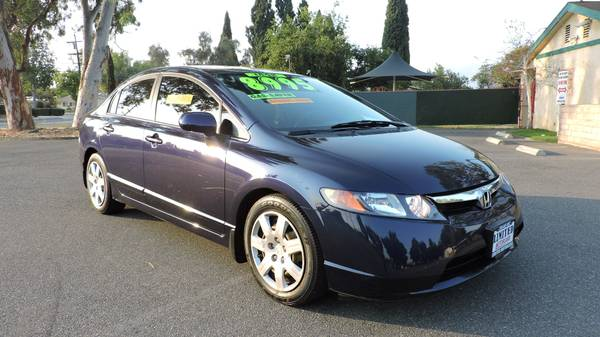 2008 HONDA CIVIC ONE OWNER CLEAN CARFAX