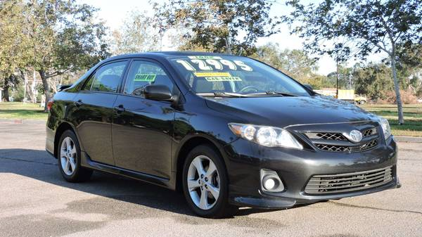2013 TOYOTA COROLLA S ONE OWNER WITH 20 SERVICE RECORDS
