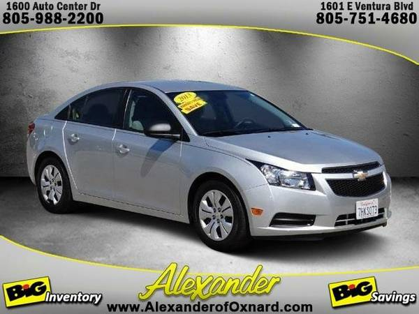 2013 *Chevrolet Cruze* LS - (Silver Ice Metallic)