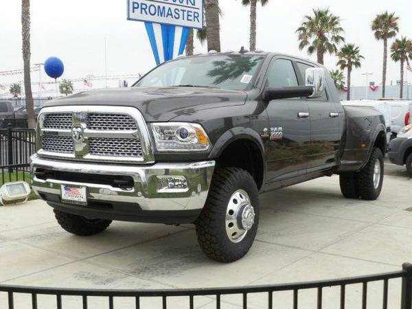 2016 *Ram 3500* Laramie - Granite Crystal Metallic Clearcoat