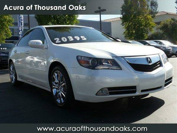 2010 *Acura RL* Technology Package - Alberta White Pearl