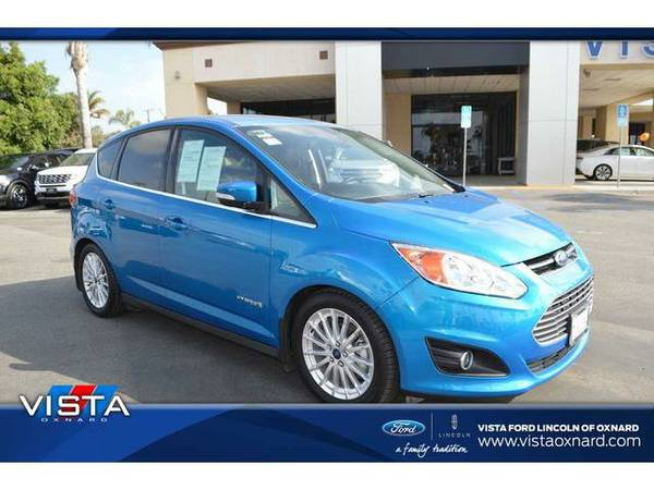 2015 *Ford C-MAX HYBRID* SEL - Blue Candy