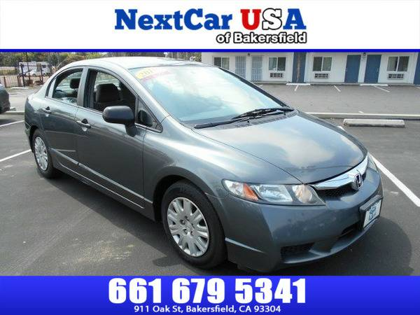 *2010* *Honda* *Civic Sdn* *DX-VP* **As Low as $495 Down**