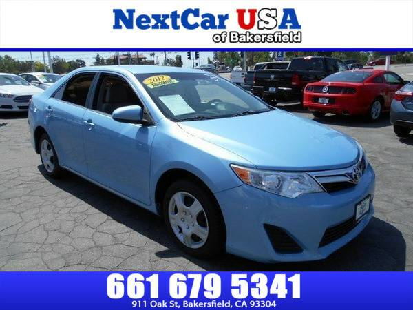 *2012* *Toyota* *Camry* *LE* **As Low as $495 Down**