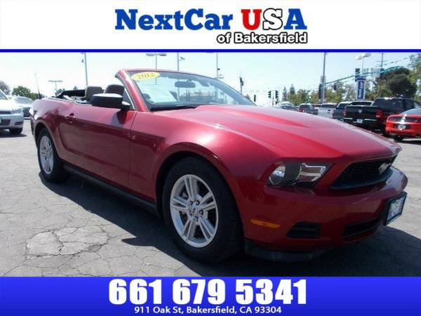 *2012* *Ford* *Mustang* *V6* **As Low as $495 Down**