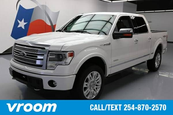 2014 Ford F-150 4x4 Platinum 4dr SuperCrew Styleside 5.5 ft. SB Truck