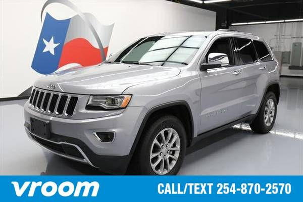 2015 Jeep Grand Cherokee Limited 7 DAY RETURN / 3000 CARS IN STOCK
