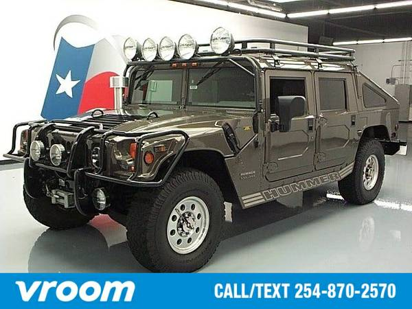 2000 AM General Hummer Slantback 7 DAY RETURN / 3000 CARS IN STOCK
