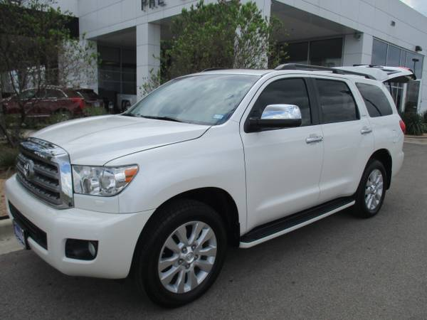 2015 TOYOTA SEQUOIA SUV / PLATINUM EDITION / ONLY 6,000 MILES !!!!!!!