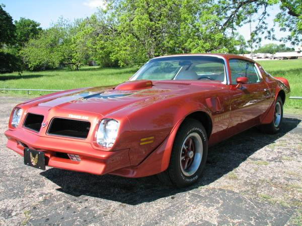 1976 Pontiac Trans-Am - L75 455 HO, 63,000 Original Miles, Show Car