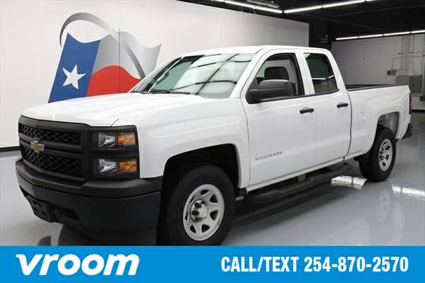 2015 Chevrolet Silverado 1500 4x4 Work Truck 4dr Double Cab 6.5 ft. SB
