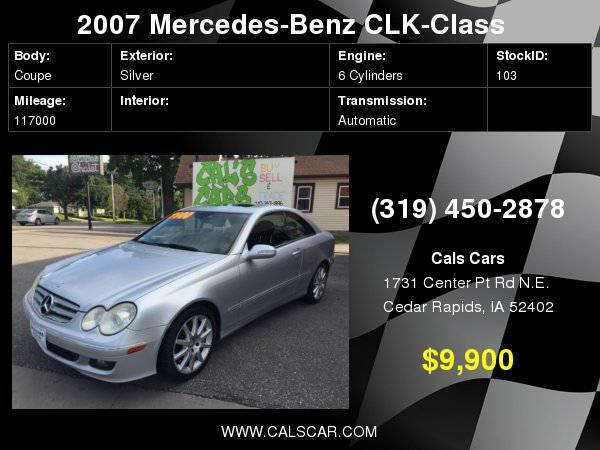 2007 Mercedes-Benz CLK-Class 2dr Coupe 3.5L