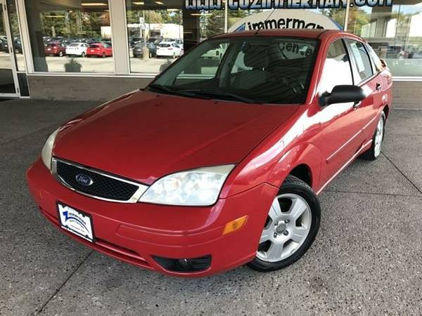2007 *Ford*Focus* S - GOOD OR BAD CREDIT OK!