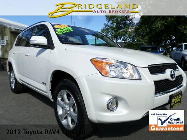 2012 Toyota RAV4 LIMITED LOADED WITH ONLY 39,000 PAMPERED MILES!