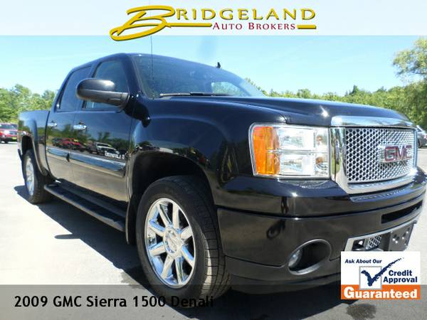 2009 GMC Sierra 1500 DENALI 6.2L BLACK DIAMOND ... BEAUTIFUL !!
