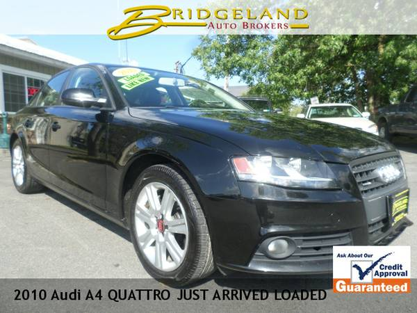 2010 Audi A4 QUATTRO JUST ARRIVED LOADED