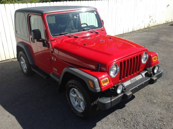 2005 Jeep Wrangler X 4x4 6-Speed Only 62,000 Miles Hardtop
