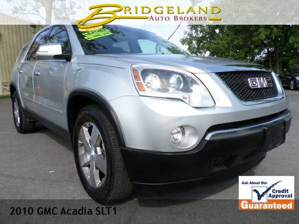 2010 GMC Acadia SLT LOADED LEATHER 3RD ROW CLEAN AND CHEAP