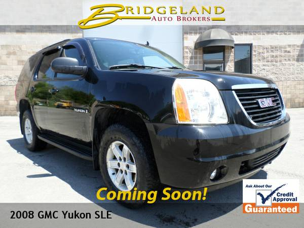 2008 GMC Yukon SLE SUPER CLEAN NEW CAR DEALER TRADE IN!