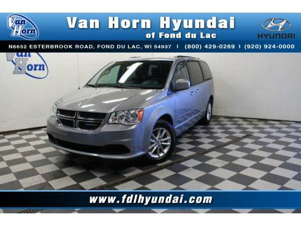 2016 *Dodge Grand Caravan* SXT - Dodge-Financing for Everyone