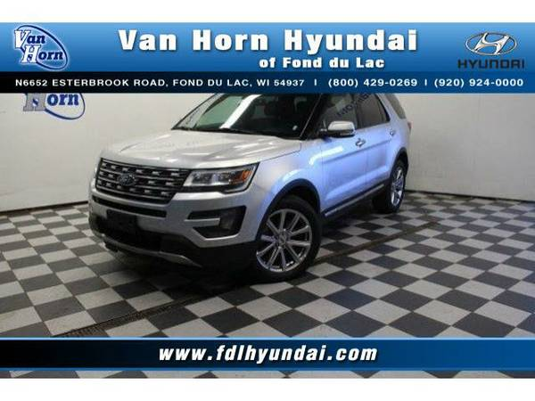 2016 *Ford Explorer* 4x4 Limited - Ford-Financing for Everyone