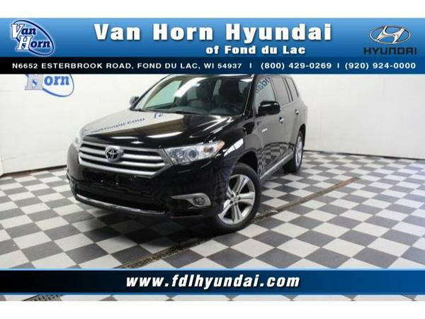 2013 *Toyota Highlander* AWD Limited - Toyota-Financing for Everyone
