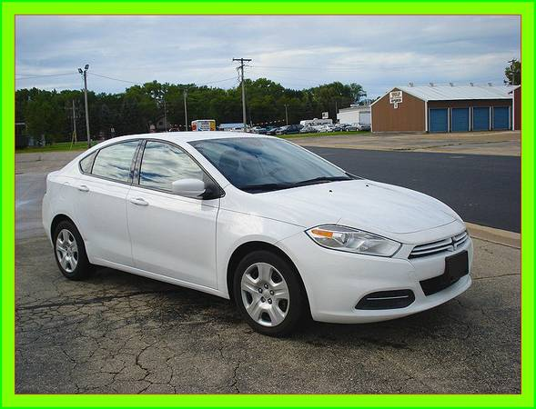 {{2015}} DODGE DART, good mpg, check out low miles