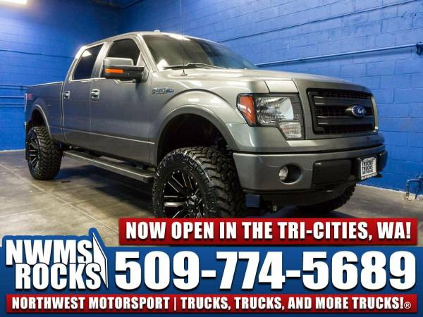 Lifted 2014 *Ford F150* FX4 4x4 - 2014 Ford F-150 FX4 4x4 Truck w/ Off